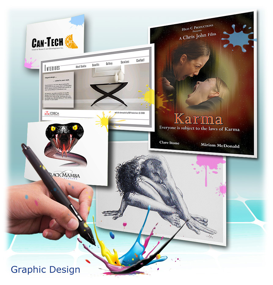 Posters, booklets, banners, signage, branding, logo design
